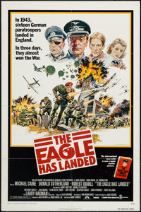 """The Eagle Has Landed (Columbia, 1976). One Sheet (27"""" X 41""""). War"""