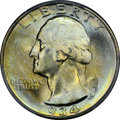 Washington Quarters, 1934 25C Light Motto MS67 PCGS. FS-401....