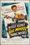 """Movie Posters:Sports, The Big Wheel (United Artists, 1949). One Sheet (27"""" X 41""""). Sports.. ..."""