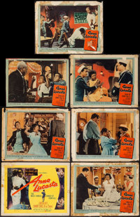 "Anna Lucasta & Other Lot (United Artists, 1958). Lobby Cards (14) (11"" X 14""). Black Films. ... (Total..."