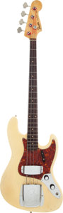 Musical Instruments:Bass Guitars, 1960 Fender Jazz Bass Blonde Electric Bass Guitar, Serial # 59173....