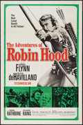 """Movie Posters:Swashbuckler, The Adventures of Robin Hood (United Artists, R-1960s). One Sheet (27"""" X 41""""). Swashbuckler.. ..."""