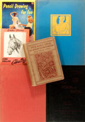 Books:Art & Architecture, Group of Six Books on Drawing. Various publishers, 1898 to 1958. Various editions. Most octavo or larger. Publisher's bindin... (Total: 6 Items)