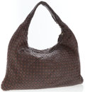 Luxury Accessories:Accessories, Bottega Veneta Brown Intrecciato Nappa Leather Classic Hobo Bag....