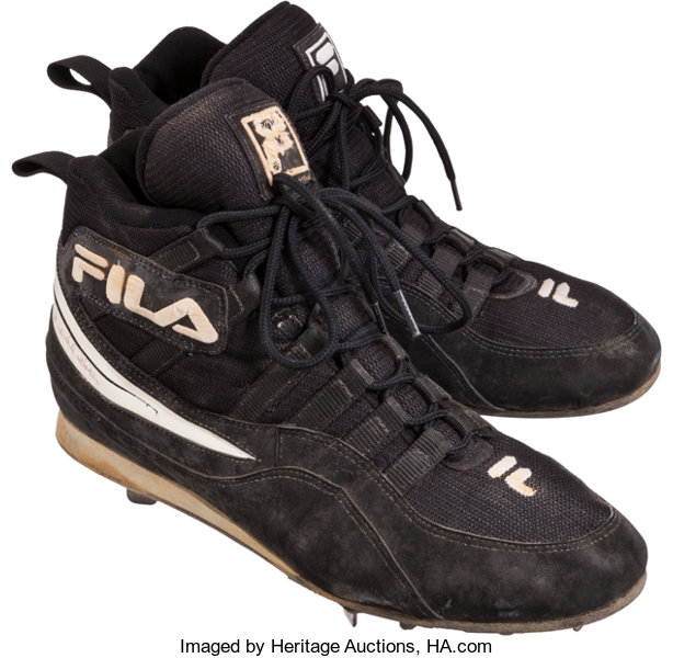 a55696e15a3 Baseball Collectibles:Others, 1996 Derek Jeter Game Worn, Signed Rookie  Cleats.