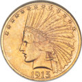 Indian Eagles, 1915-S $10 MS62 NGC....