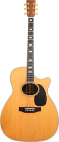 Musical Instruments:Acoustic Guitars, 1988 Martin J-40 MC Natural Acoustic Guitar, Serial # 477636....