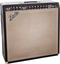 Musical Instruments:Amplifiers, PA, & Effects, 1967 Fender Super Reverb Black Guitar Amplifier....