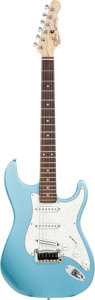 Musical Instruments:Electric Guitars, Circa 2005 G & L Legacy Blue Solid Body Electric Guitar, Serial # CLF34420.. ...
