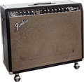 Musical Instruments:Amplifiers, PA, & Effects, 1965 Fender Twin Reverb Black Guitar Amplifier. ...