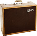 Musical Instruments:Amplifiers, PA, & Effects, Circa 1960 Gibson Falcon Tweed Guitar Amplifier, Serial # 13141....