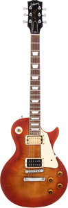 Musical Instruments:Electric Guitars, Late 1970's Lawsuit Era Gibson Les Paul Standard Copy, Serial # 81941...