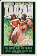 "Movie Posters:Adventure, Tarzan the Ape Man & Other Lot (MGM, 1981). One Sheet, &Military Style One Sheet (27"" X 41"") Advance. Adventure.. ...(Total: 2 Items)"
