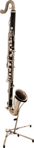 Musical Instruments:Horns & Wind Instruments, Vito Black Bass Clarinet, Serial # 53016....