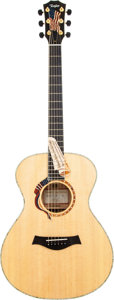 Musical Instruments:Acoustic Guitars, 2002 Taylor LTG Liberty Tree Natural Acoustic Guitar, Serial # 402....