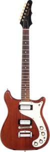 Musical Instruments:Electric Guitars, 1966 Epiphone Wilshire Cherry Solid Body Electric Guitar, Serial #530724....