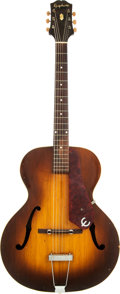 Musical Instruments:Acoustic Guitars, 1949 Epiphone Zenith Sunburst Archtop Acoustic Guitar, Serial #59778....