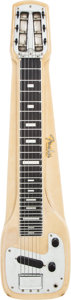 Musical Instruments:Lap Steel Guitars, 19958 Fender Champion Blonde Lap Steel Guitar, Serial # 6569. ...