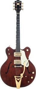 Musical Instruments:Electric Guitars, 1967 Gretsch Country Gentleman Burgundy Semi-Hollow Body ElectricGuitar, Serial # 571354....