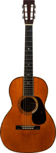 Musical Instruments:Acoustic Guitars, 1929 Martin 00-42 Natural Acoustic Guitar, Serial # 39110....