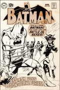 Original Comic Art:Covers, Neal Adams Batman #210 Catwoman Cover Original Art (DC, 1969).... (Total: 4 Items)