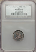 Bust Dimes, 1837 10C Capped -- Obverse Damaged -- NGC Details. XF. JR-4. NGCCensus: (8/125). PCGS Population (10/127). Mintage: 359,50...