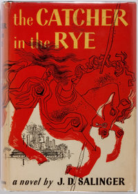J. D. Salinger. The Catcher in the Rye. Boston: Little, Brown, 1951. First book club edition. O