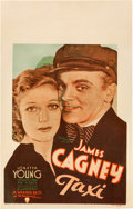 "Movie Posters:Crime, Taxi (Warner Brothers, 1932). Window Card (14"" X 22"").. ..."