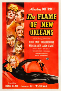 """The Flame of New Orleans (Universal, 1941). One Sheet (27"""" X 41"""")"""