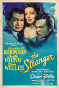 "Movie Posters:Film Noir, The Stranger (RKO, 1946). One Sheet (27"" X 41"").. ..."