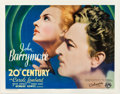 "Movie Posters:Comedy, 20th Century (Columbia, 1934). Half Sheet (22"" X 28"") ProfileStyle.. ..."