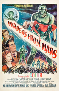 """Invaders from Mars (20th Century Fox, 1953). One Sheet (27"""" X 41"""")"""