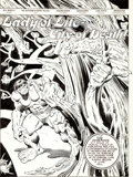 Original Comic Art:Splash Pages, Sal Buscema and Gerry Talaoc Incredible Hulk #302 SplashPage 1 Original Art (Marvel, 1984)....