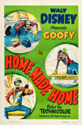 "Movie Posters:Animated, Home Made Home (RKO, 1951). One Sheet (27"" X 41"").. ..."