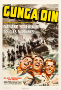 "Movie Posters:Action, Gunga Din (RKO, 1939). One Sheet (27"" X 41"") Style A.. ..."
