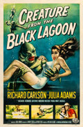 "Movie Posters:Horror, Creature from the Black Lagoon (Universal International, 1954). One Sheet (27"" X 41"").. ..."