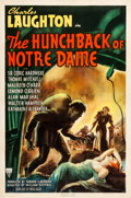 "Movie Posters:Horror, The Hunchback of Notre Dame (RKO, 1939). One Sheet (27"" X 41"")....."