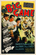 "Movie Posters:Sports, Big Game (RKO, 1936). One Sheet (27"" X 41"").. ..."