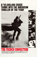 "Movie Posters:Action, The French Connection (20th Century Fox, 1971). One Sheet (27"" X41"") Style B.. ..."