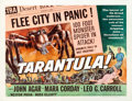 "Movie Posters:Science Fiction, Tarantula (Universal International, 1955). Half Sheet (22"" X 28"")....."