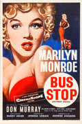 "Movie Posters:Drama, Bus Stop (20th Century Fox, 1956). British Double Crown (20"" X 30"").. ..."