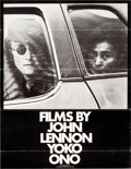 "Movie Posters:Documentary, Films by John Lennon and Yoko Ono (Joko, 1972). Poster (14"" X 18"").. ..."