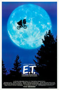 "Movie Posters:Science Fiction, E.T. The Extra-Terrestrial (Universal, 1982). One Sheet (27"" X40.25"") Bicycle Style.. ..."
