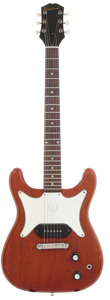 Musical Instruments:Electric Guitars, 1961 Epiphone Coronet Cherry Solid Body Electric Guitar, Serial #59109....