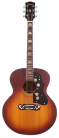 Musical Instruments:Acoustic Guitars, 1970 Ibanez 698 Sunburst Acoustic Guitar....