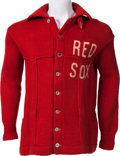 Baseball Collectibles:Uniforms, Early 1920's Boston Red Sox Uniform Sweater....