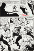 Original Comic Art:Panel Pages, Russ Heath G. I. Combat #129 Haunted Tank Page 11 Original Art (DC, 1967)....