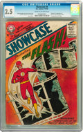 Silver Age (1956-1969):Superhero, Showcase #4 The Flash (DC, 1956) CGC GD+ 2.5 Cream to off-white pages....