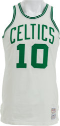 Basketball Collectibles:Uniforms, Early to Mid-1970's Jo Jo White Game Worn Boston Celtics Jersey....