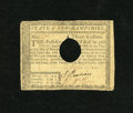 Colonial Notes:New Hampshire, New Hampshire April 29, 1780 $3 Very Fine, HOC. This note has arepair at top and the usual cancel....